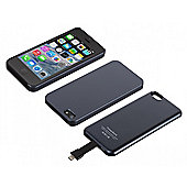 Magnetic Battery Case for iPhone 5 2,800mAh Black Bulk