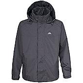 Trespass Mens Nabro Waterproof Rain Jacket - Grey
