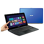 "ASUS X200CA 11.6"" Touchscreen Laptop, Intel Celeron, 4GB RAM, 500GB Storage - Blue"