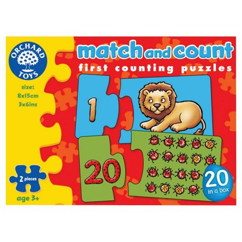 Orchard Toys Match and Count First Counting Puzzles
