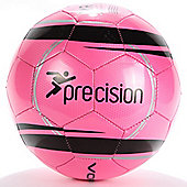 Precision Training Vortex Football Fluorescent Pink/Black Size 5