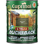 Cuprinol 5 Year Ducksback - Woodland Moss - 5L