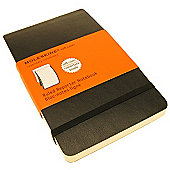 Moleskine Soft Ruled Reporter Notebook Pocket
