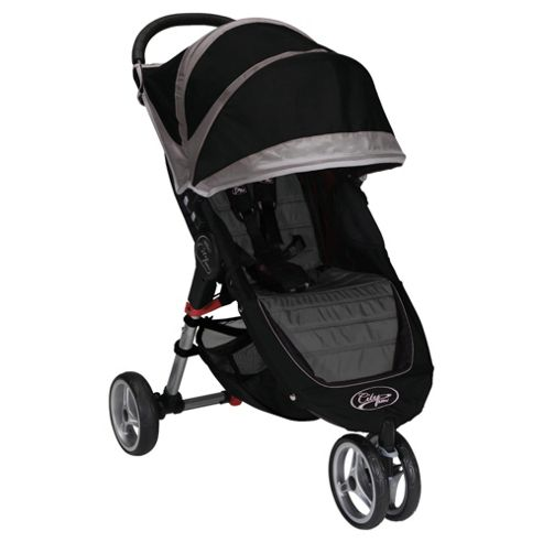 Baby Jogger City Mini Single 3 Wheel Pushchair, Black