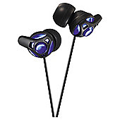 JVC HA-FX40-A-E Crystal Sound Headphones Blue