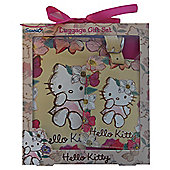 Hello Kitty Passport Holder & Luggage Tag Set