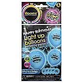 Illoom Happy Birthday Blue 5pk