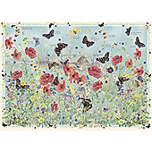 Country Diary of an Edwardian Lady - Jewels of the Air - Butterflies - 1000pc Puzzle