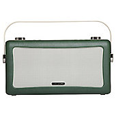 View Quest Hepburn Bluetooth Speaker with DAB+ and FM - Emerald Green