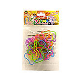 Bandz Shaped Wristbands ~ Rubber Bands Scented Yummy 12 Pack
