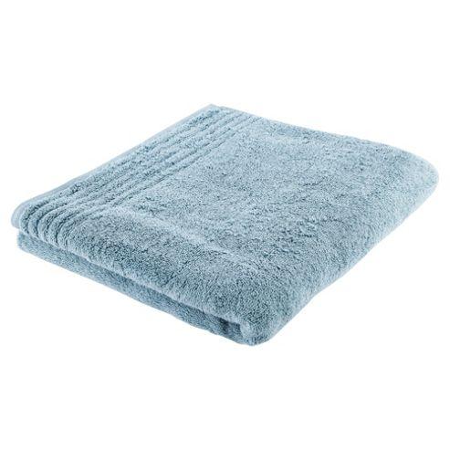 Tesco 100% Egyptian Cotton Bath Towel Marine Blue
