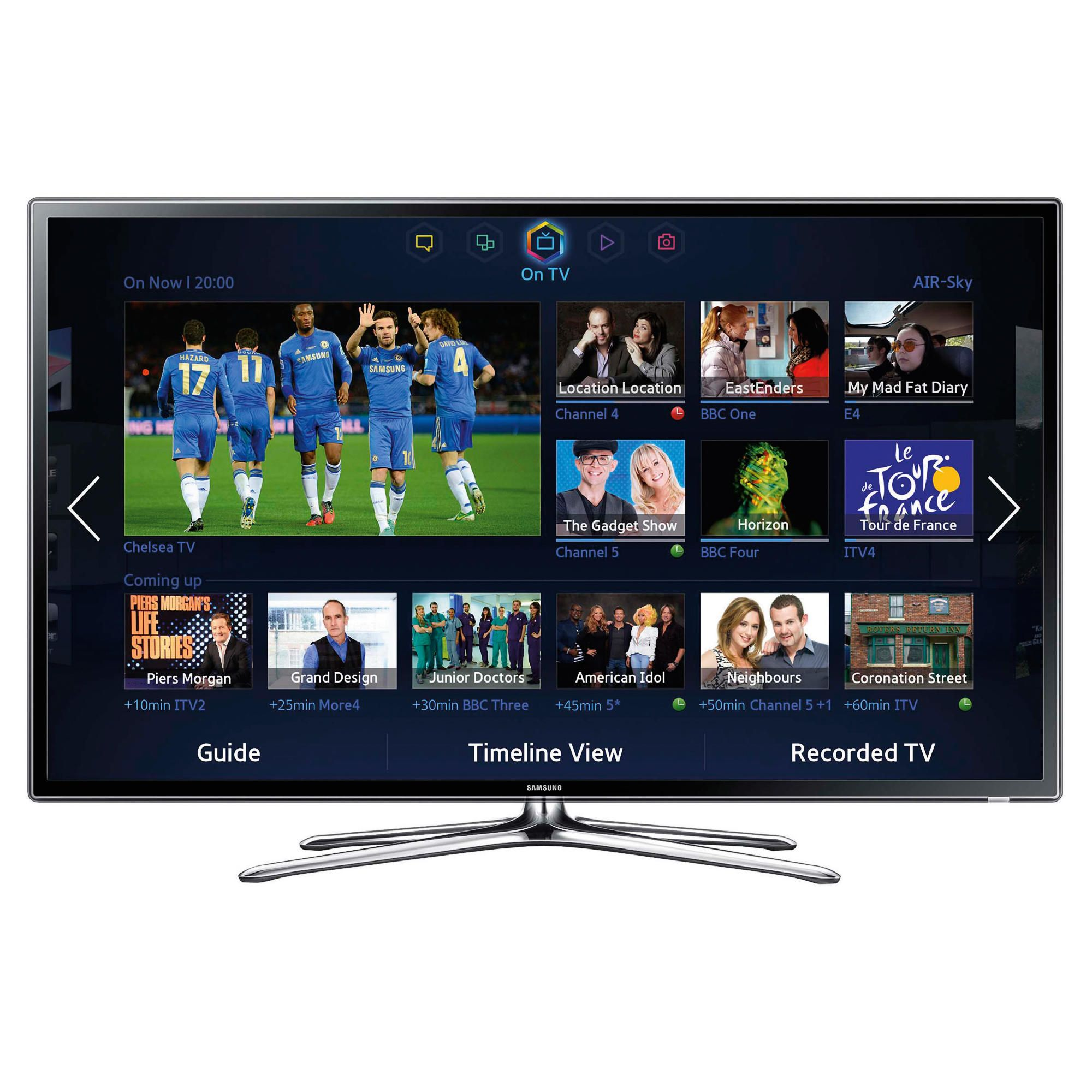 Samsung UE46F6320 46inch Full HD 1080p 3D Slim LED Smart TV with Freeview HD