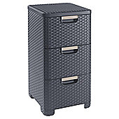 Curver My Style drawer units brown