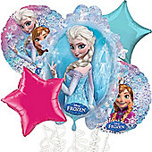 Disney Frozen Balloon Bouquet - Assorted Foil