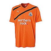 2011-12 Newcastle Away Puma Football Shirt - Orange