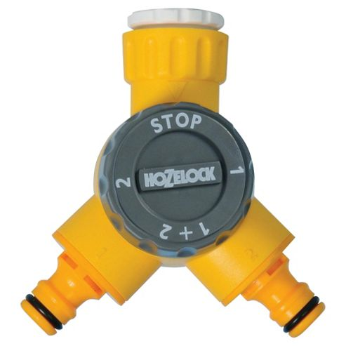 Hozelock dual tap connector
