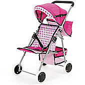 Toyrific Snuggles Deluxe Dolls Buggy With Hood And Baskets