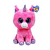 TY Beanie Boo Plush Magic The Pink Unicorn