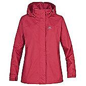 Trespass Girls Nasu Waterproof Windproof Jacket - Pink