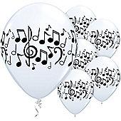 11' Music Notes (25pk)