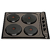 Hotpoint E604B, Brown, Electric Hob, 60cm