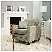 Buckingham Fabric Armchair Sofa Biscuit