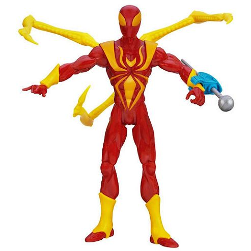 Marvel Ultimate Spider-Man Action Figure - Nano Claw Iron Spider-Man