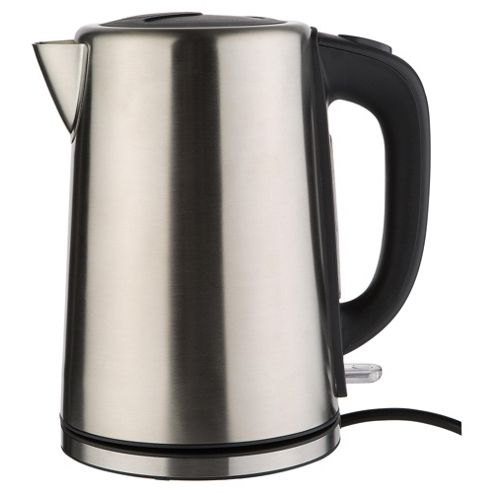 buy tesco stainless steel jug kettle brushed stainless. Black Bedroom Furniture Sets. Home Design Ideas