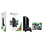 Xbox 360 250GB Console Slim Holiday Value Bundle