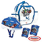 Avengers Kids' Bike Helmet & Protection Set in Bag