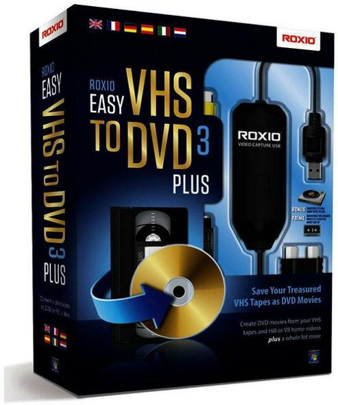 Corel Corporation Roxio Easy VHS To DVD 3Plus