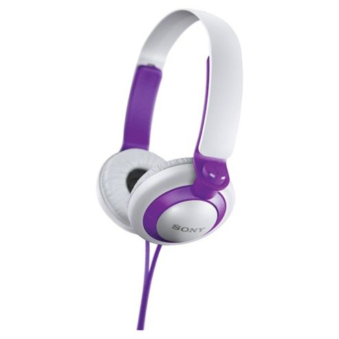 Sony MDR-XB200 Extra Bass Overhead Headphones - Purple