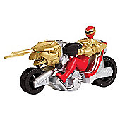 Power Rangers Megaforce Ultra Red Ranger Dragon Cycle
