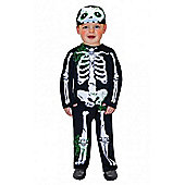 Skeleton - Toddler Costume 12-24 months