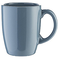 Tesco Basics Mug, Storm Blue
