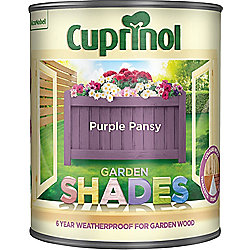 Cuprinol Garden Shades - Purple Pansy - 1 Litre