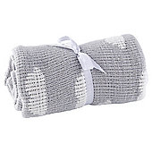 Tesco Cloud Baby Chenille Blanket