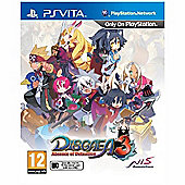 Disgaea 3 Adsence Of Detention (PSVita)