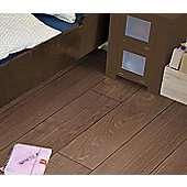 Westco 8mm V-Groove Waveless Dark Oak Laminate Flooring
