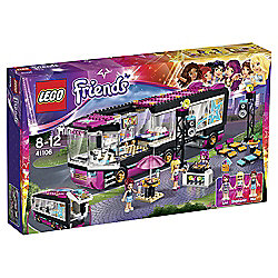 LEGO Friends Pop Star Tour Bus 41106
