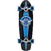 Mindless Longboards Campus II V-tail Blue Complete Mini Longboard