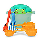 Melissa Doug Seaside Sidekicks Sand Baking Set