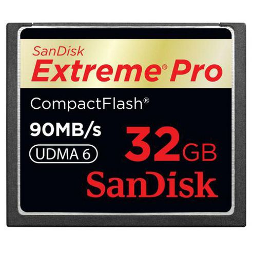 SanDisk Extreme Pro 32GB CompactFlash Card
