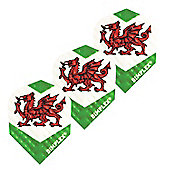 Harrows Dimplex Wales Dart Flights