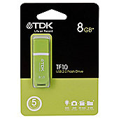 TDK TF10 Green USB flash drive - 8GB