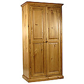 Kelburn Furniture Pine Full Hanging Small Wardrobe