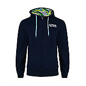 Rugby World Cup 2015 Ball Game Zip Up Hoody - Navy