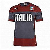 2014-15 Italy Puma Training Shirt (Red) - Red