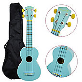 Rocket Soprano Ukulele inc Bag - Blue