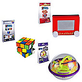 Worlds Smallest Miniature Edition Games Set of 3 (Etch a Sketch - Rubiks - Perplexus)